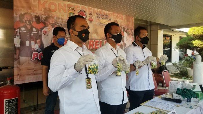 Bandar Ekstasi di Tangerang Jual Barangnya Berkedok Obat Covid-19, 2 Ribu Butir Diamankan Polisi