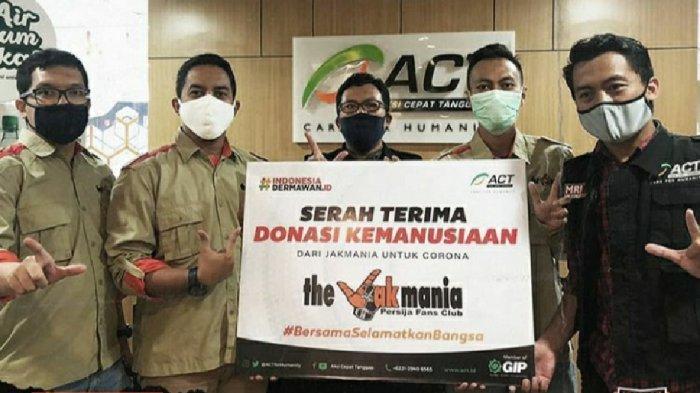 Bantu Perangi Covid-19, Aksi Jaga Jakarta The Jakmania Terkumpul Rp 41,2 Juta
