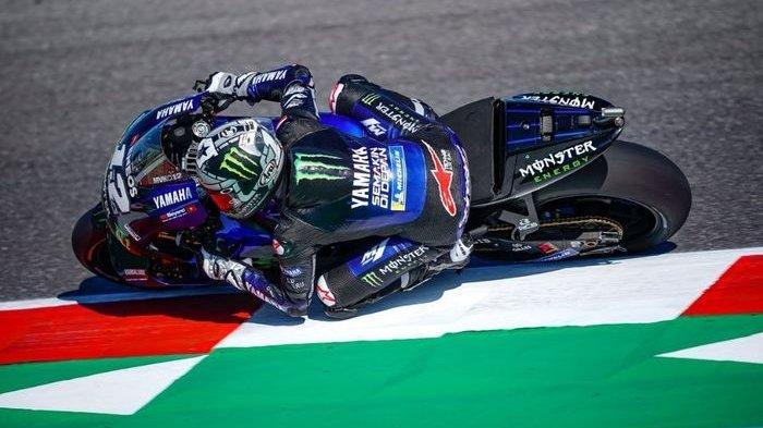 Hasil MotoGP Emilia Romagna 2020: Maverick Vinales Tercepat, Valentino Rossi Gagal Finish