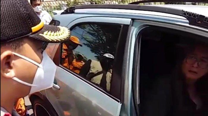 Menolak Pakai Masker saat Razia PSBB, Pengemudi Mobil di Cakung Diduga Hendak Telantarkan Anak