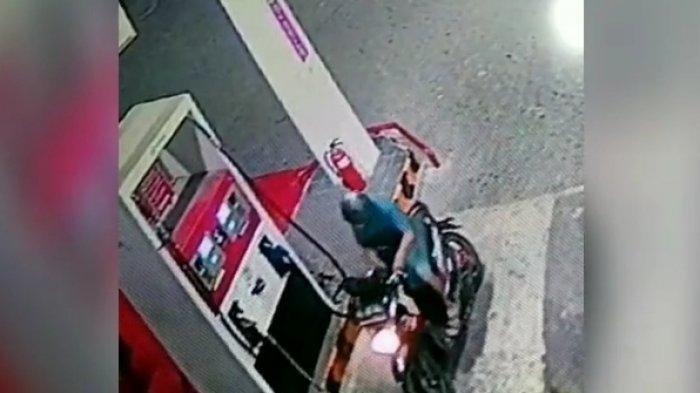Usai Sopir Truk, Giliran Petugas Petugas SPBU jadi Korban Pencurian di Pom Bensin