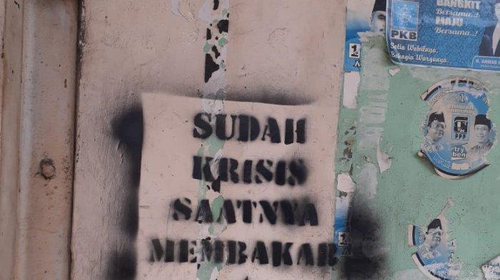 Aksi Vandalisme Hingga Kelompok Anarko Saat Wabah Corona, Tulisan Provokatif dan Inspirasi Joker