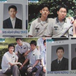 Aktor Drama Korea ( drakor) Kim Soo Hyun masa remaja.