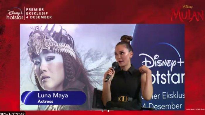 Wih, Luna Maya Bareng Yuki Kato dan Dion Wiyoko Jadi Pengisi Suara di Film Disyney Mulan