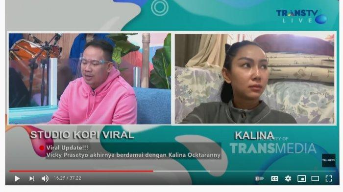 Dituding Umbar Aib, Kalina Oktarani Ungkap Alasan Bongkar Masalah dengan Vicky Prasetyo ke Publik