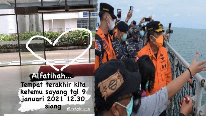 Tempat Terakhir Ketemu Korban Sriwijaya Air, Istri Okky Bisma Kenang 2 Jam Sebelum Tragedi: Bahagia