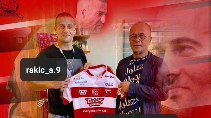 Cerita Top Skor Liga 1 2018 Aleksandar Rakic yang Terpisah dengan Anak Istri di Tengah Wabah Corona