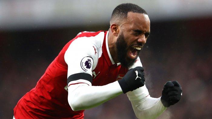 Hasil Liga Inggris - Arsenal Pesta Gol ke Gawang West Bromwich Albion