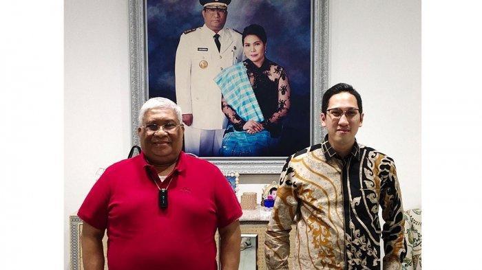 Gubernur Sulawesi Tenggara Ajak Yudhistira Bamsoet Berikan Gagasan Ketahanan Pangan, Bantu Ekonomi