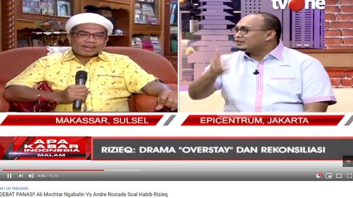 Ali Ngabalin Minta Rizieq Buat Vlog Soal Kepulangannya, Andre Rosiade: Harusnya Abang Ditegur Jokowi