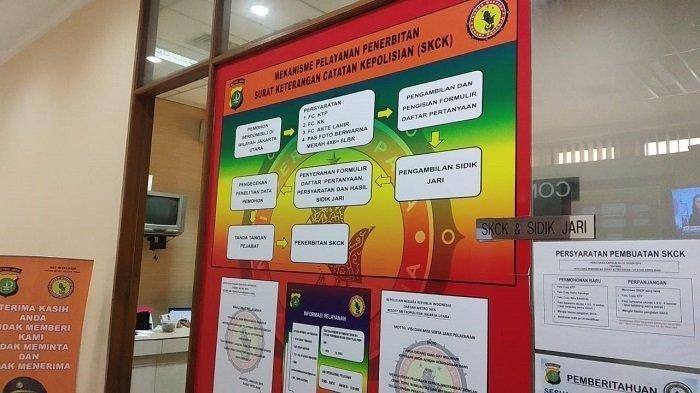 Dibatasi Sampai Pukul 12.00 WIB, Pembuatan SKCK di Polres Metro Jakarta Utara Meningkat Drastis