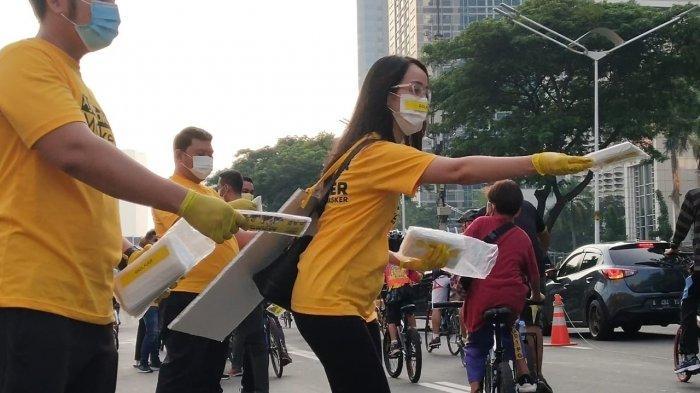 AMPG Bagikan 20 Ribu Masker dan Ajak Masyarakat Jangan Kendor Patuhi Protokol Kesehatan