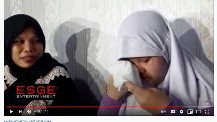 Tak Mau Buat Ibunya Sedih, Anak Sapri Pantun Unggah Status WA Diam-diam: Papah Sudah Ketemu Alm Olga