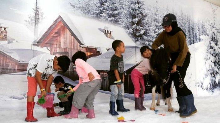 Libur Natal dan Tahun Baru, Empat Tempat Ini Hadirkan Area Bermain Salju untuk Anak
