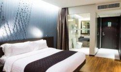 Layanan lounge first class Saphire Precious, dan tarif menginap di hotel bintang 4 yakni Anara Airport Hotel dalam rangka HUT ke-37 PT Angkasa Pura II, Jumat (13/8/2021).