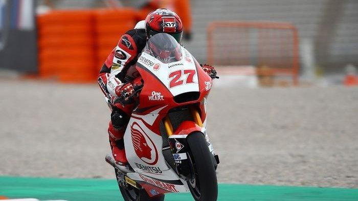 Pebalap Indonesia Andi Gilang Berlaga di MotoGP 2021, Turun Kelas ke Moto3