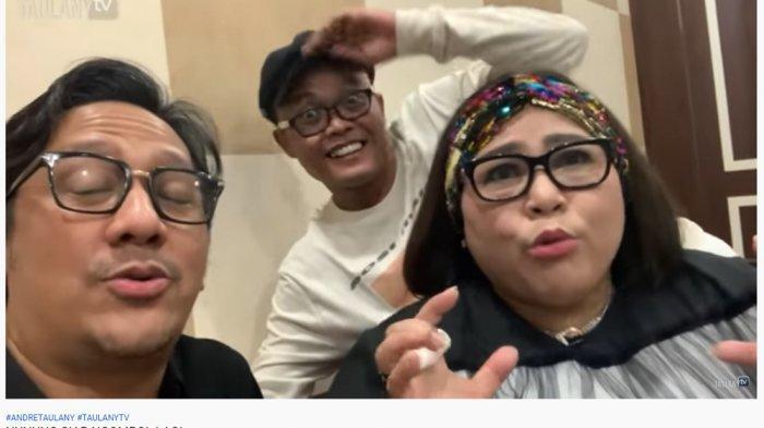 Jenguk dan Hibur Nunung di RSKO Cibubur, Andre Taulany Polos: Mami Masih Ngompol?