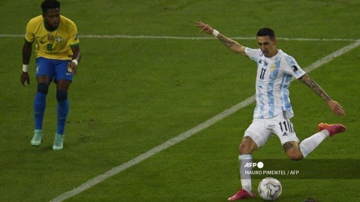 Angel Di Maria Cetak Rekor Tak Biasa Usai Bawa Argentina Juara: Pemain Terbaik, Gol Pertama di Final