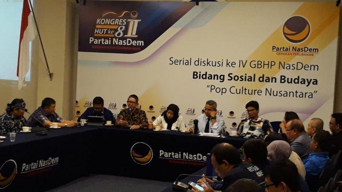 NasDem Siapkan Regulasi Guna Menguatkan Industri Kreatif Indonesia