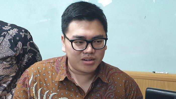 Anggota DPRD DKI dari Fraksi PSI Anggara Wicitra saat ditemui di Gedung DPRD DKI, Kebon Sirih, Jakarta Pusat, Kamis (7/11/2019)