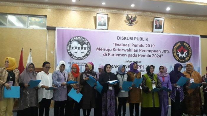 KPPI Targetkan Keterwakilan Perempuan 30 Persen di Parlemen
