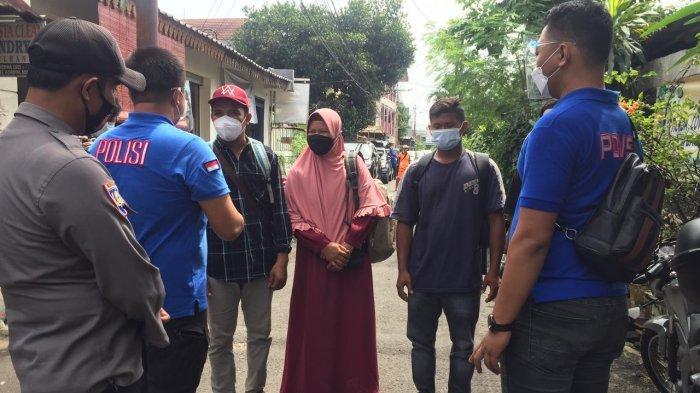 Baru Pulang Mudik, 11 Warga Jakarta Selatan Ikuti Tes Swab Antigen yang Digelar Polres Jaksel