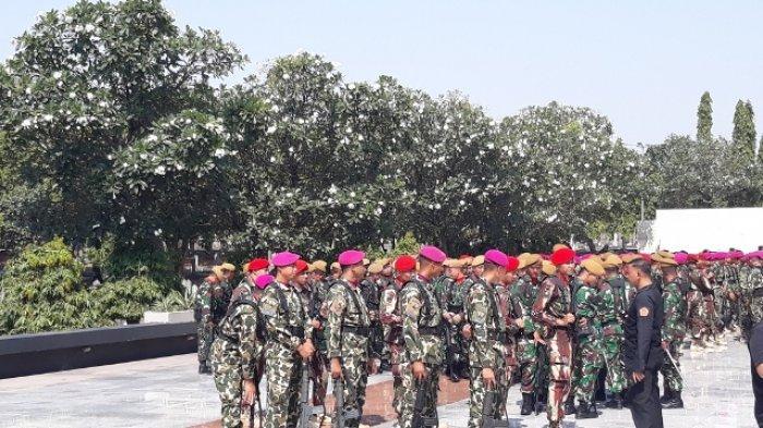 Pasukan Gabungan Tiba di TMP Kalibata Jakarta Selatan, Tempat Pemakaman BJ Habibie