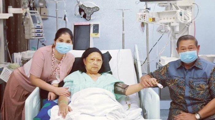 Ani Yudhoyono Masih Terbaring di ICU, Andi Mallarangeng: Sejak Hari Rabu Kondisi Ibu Menurun