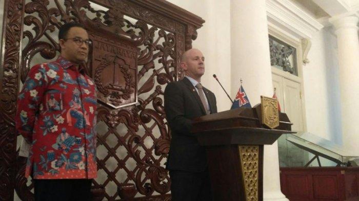 Anies Baswedan Jajaki Kerjasama New South Wales Mengelola Air Limbah