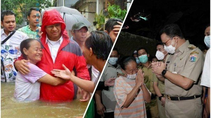 Pamer Foto Cipinang Melayu Bebas Banjir, Anies Bandingkan Saat Kampanye 2017