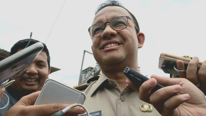 Polemik Monas Hingga Tunjuk Napi Jadi Dirut Transjakarta, Anies Pilih Jaga Jarak dengan Wartawan