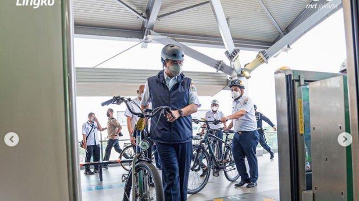 Politisi PDIP Kritik Anies Baswedan Soal Sepeda Boleh Masuk Gerbong MRT, Dituding Tidak Pro Rakyat
