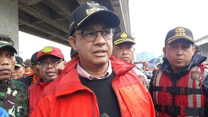 Banjir Jakarta, Gubernur Anies Baswedan Enggan Bandingkan Programnya dengan Ahok
