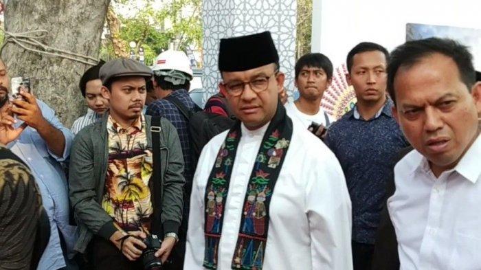 Anies Baswedan dan Jusuf Kalla Hadiri Groundbreaking Masjid Apung di Ancol