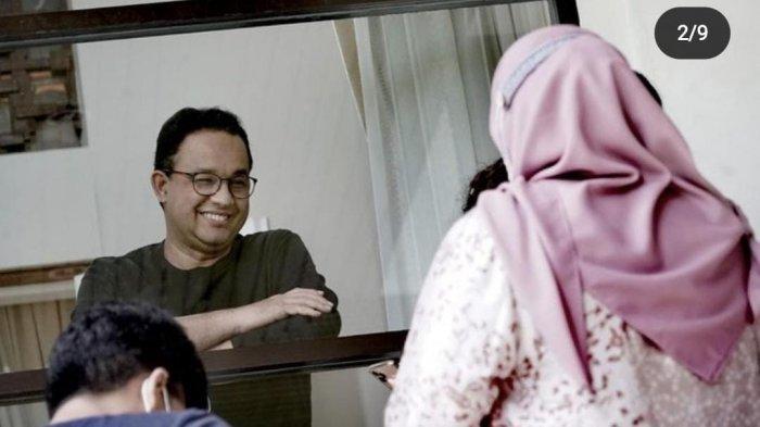 Terhalang Kaca Jendela Ketika Jenguk Anies Baswedan di Rumah Dinas, Sang Istri: Rindu