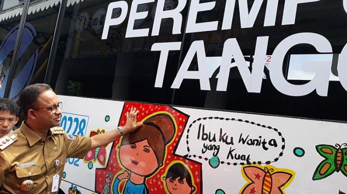 Anies Baswedan: Wartawan dan Volunteer Gratis Naik TransJakarta Selama Asian Games