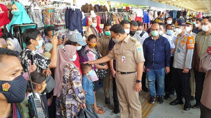 Cegah Kerumunan di Pasar Tanah Abang, Anak Buah Anies Andalkan Toa