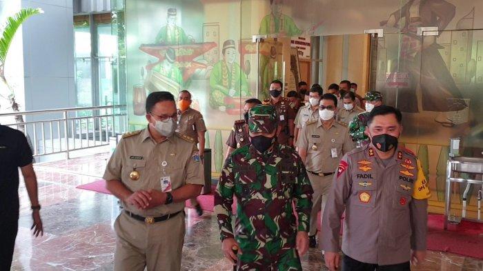 Cegah Lonjakan Kasus Covid-19 Usai Libur Lebaran, Anies Diberi Arahan Presiden Jokowi