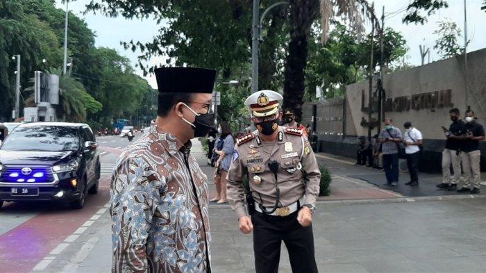Peresmian Masjid Istiqlal Hari Ini: Anies Baswedan Tiba di Lokasi, Presiden Jokowi Belum Datang