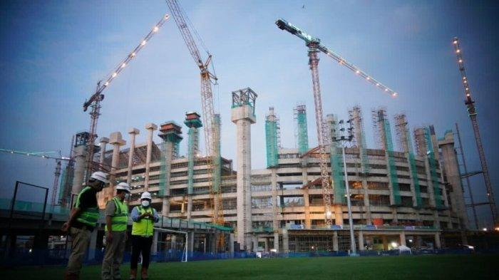 Gubernur Anies Beri Kabar Baik untuk Jakmania, Pembangunan JIS Sudah Setengah Jalan
