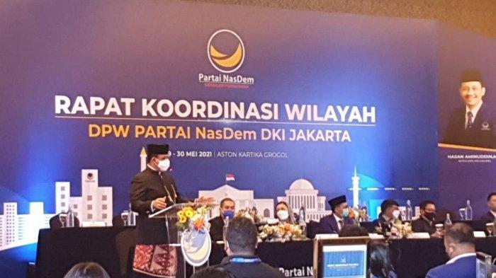 Anies Baswedan Apresiasi Rakorwil DPW Partai Nasdem: Ini Penanda, Siap Menyongsong Pemilu 2024