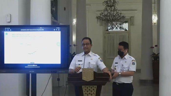Terapkan PSBB Lagi di DKI Jakarta, Anies Baswedan: Ganjil Genap Ditiadakan, Angkutan Umum Dibatasi