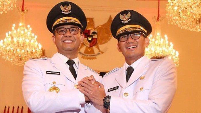 Gerindra Risih Ada Wacana Duet Anies-Sandi di Pilpres 2024, Intip Kembali Kebersamaan Duo Maut
