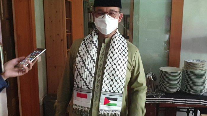 Pakai Sorban Bendera Palestina Saat Lebaran, Gubernur Anies Singgung Pesan Bung Karno