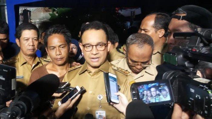 Anies Baswedan Sumbang Rp 100 Juta untuk Korban Kebakaran di Krukut