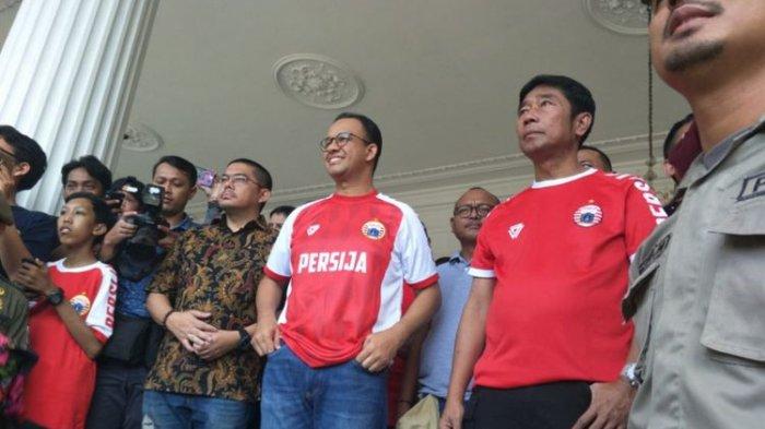 Gubernur Anies Baswedan Bangga Persija Lolos Final Piala Menpora
