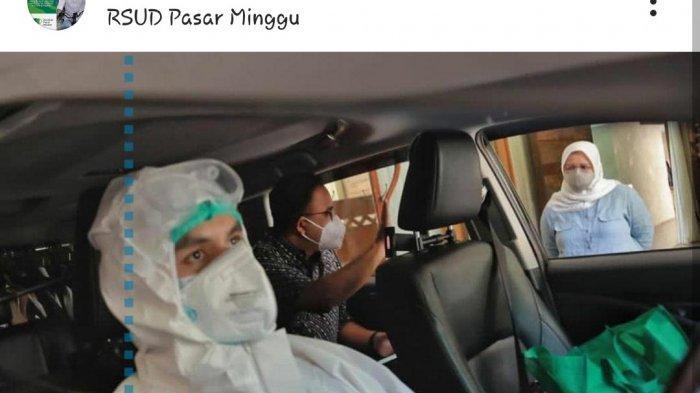 Gubernur Anies Baswedan Cerita Pengalaman Dijemput Petugas Kesehatan RSUD Pasar Minggu