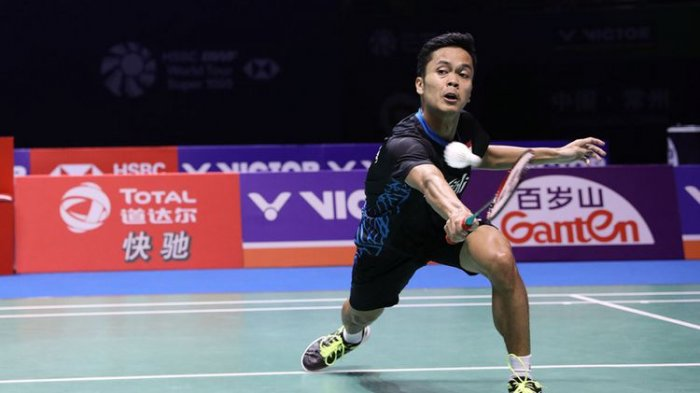 SEDANG BERLANGSUNG Japan Open 2019: Kento Momota Vs Anthony Ginting, Ini Link Live Streaming