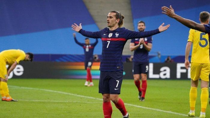 Hasil Kualifikasi Piala Dunia 2022: Perancis Vs Ukraina Berakhir Seri, Griezmann Cetak Gol