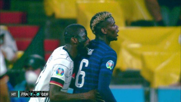 Antonio Ruediger Bantah Gigit Paul Pogba: Memang Pemandangannya Buruk